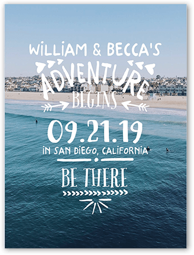 photo of Adventure Awaits Save The Date