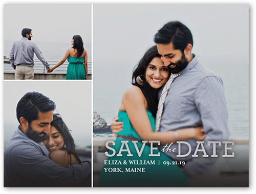 Focused On Forever Love Save The Date, Square