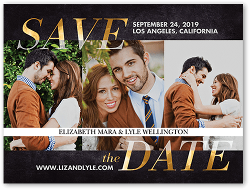 Infinitely Golden Save The Date