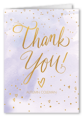 cheery fizz thank you card