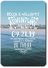 adventure awaits save the date