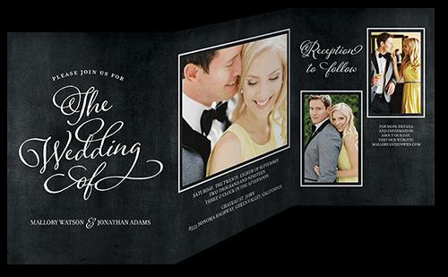 Lovely Beginning Wedding Invitation, Square