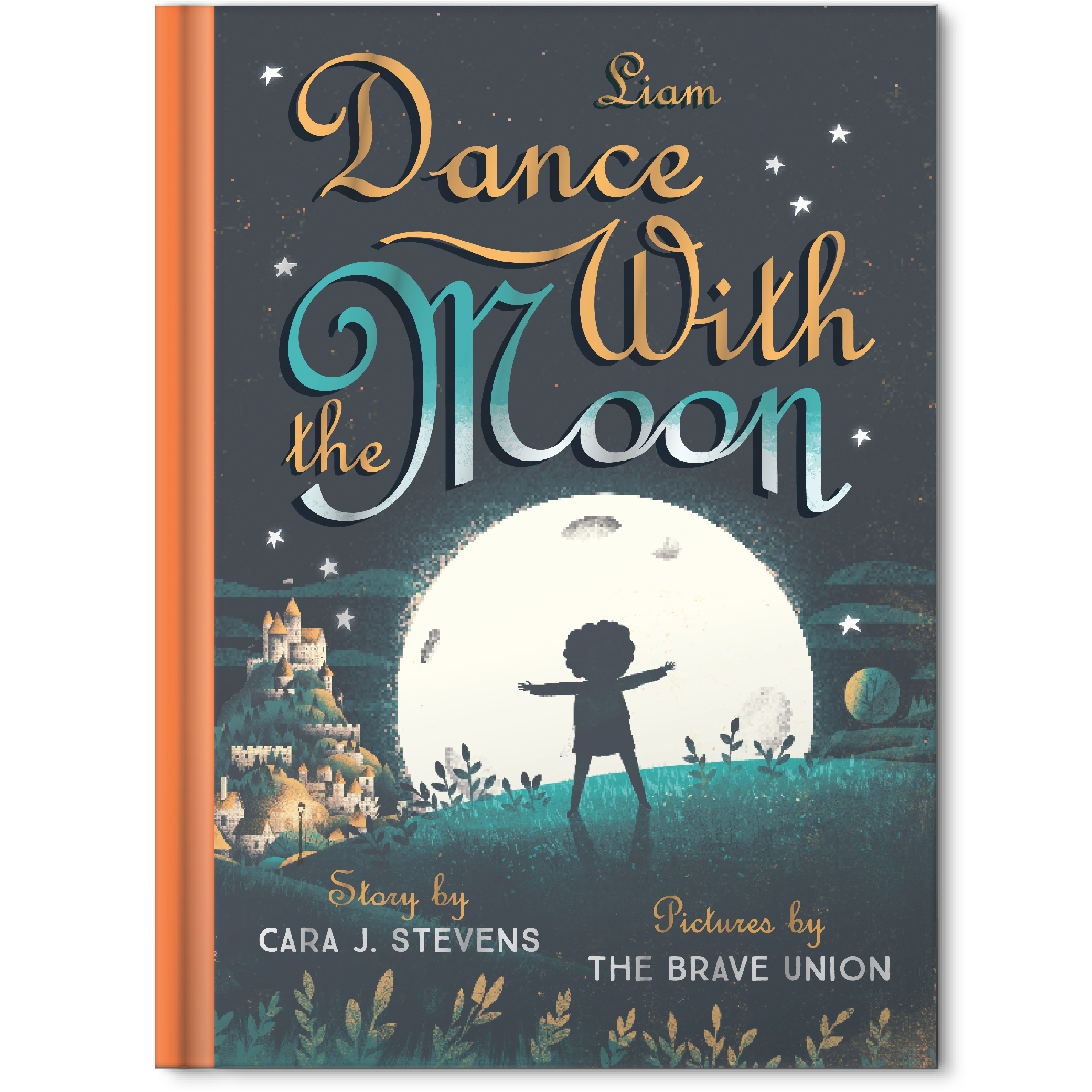 dance with the moon personalized story book