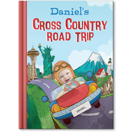 my cross country road trip personalized story book