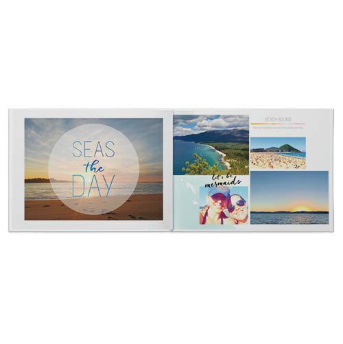 beach travel photo book