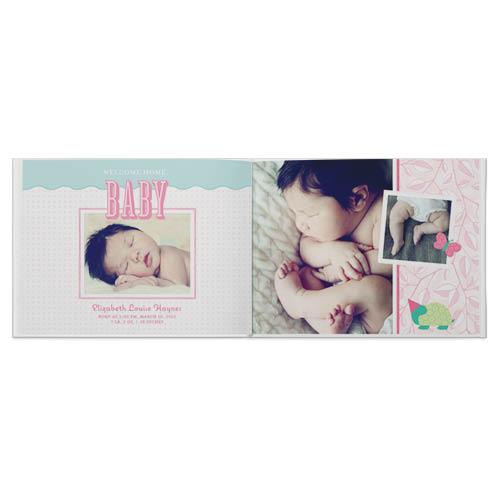 classic baby girl photo book