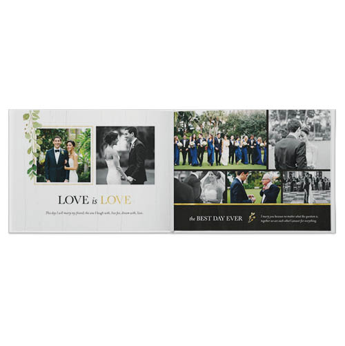 classic vows photo book