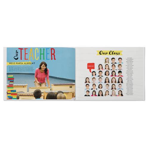 primary school yearbook photo book
