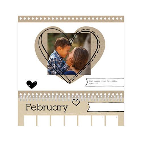 scrapbook moments wall calendar