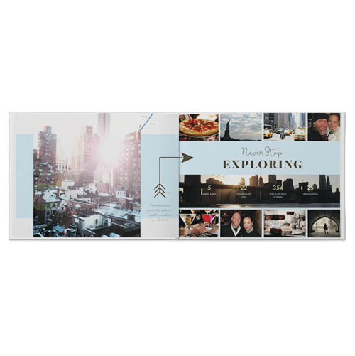 usa travel photo book