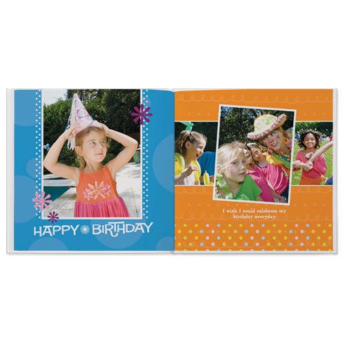 birthday blowout photo book
