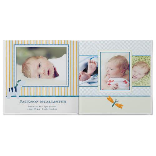 classic baby boy photo book