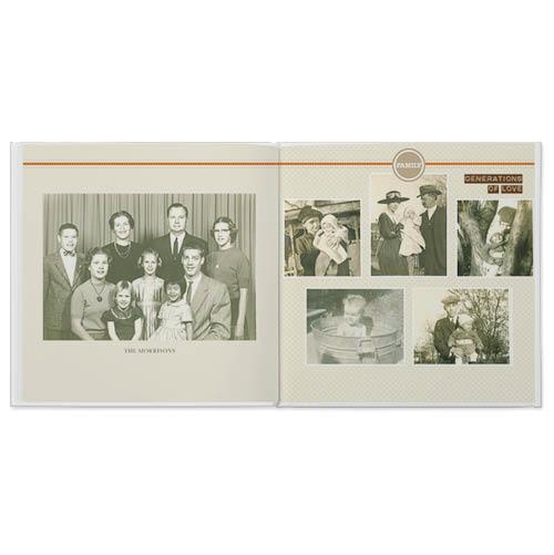family memories photo book