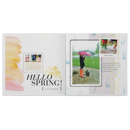 hello spring photo book