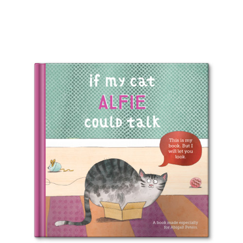 if my cat could talk personalized story book