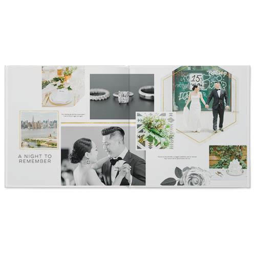 modern love story photo book