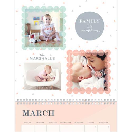precious memories wall calendar