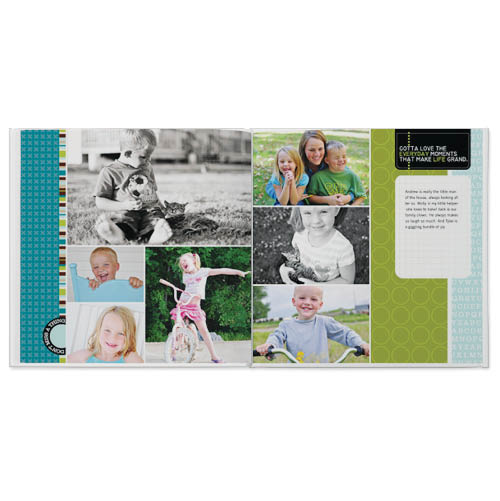project life turquoise edition photo book