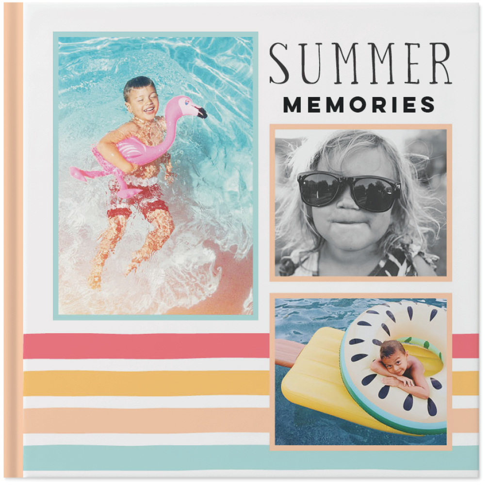 summertime fun photo book