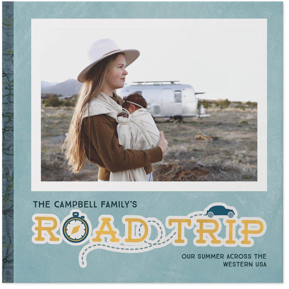 road trip travel by sarah hawkins designs photo book