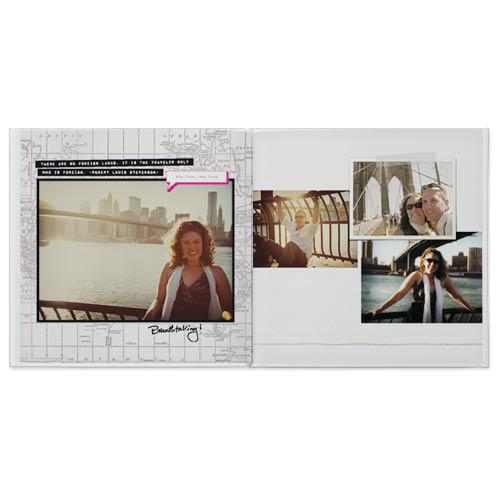 travel snapshots photo book